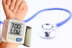 Check your blood pressure and pulse to prevent heart problems Stock Photos