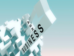 Motivation Words Animated With Cubes Stock Footage