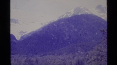 1977: enormous mountains sprawl out before the camera, huge and endless. ALASKA Stock Footage