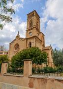 Church of Immaculate Conception, San Magin, Palma Stock Photos