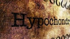 Hypochondrias disease grunge concept Stock Footage