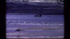 1977: rolling down the river ALASKA Stock Footage
