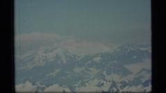 1977: whitey mountain in the top ALASKA Stock Footage