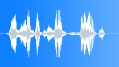 UK female-100 Percent fat-Enthusiastic Sound Effect