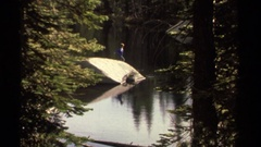 1978: because what nature makes us feel is impossible to disguise. water is life Stock Footage