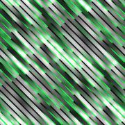 Gradient Neon Motion Lines. Seamless Multicolor Pattern Stock Illustration