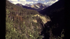 1979: fantastic view of blue sky and clouds CANADA Stock Footage