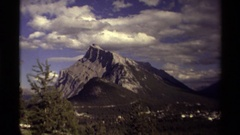 1979: untouched mountainous scenery CANADA Stock Footage