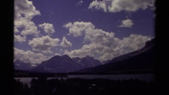1979: beautiful scenery clouds and sunlight nature best CANADA Arkistovideo