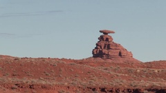 Monument Valley National Park in Arizona, USA Stock Footage