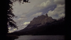 1979: in the pleasant gloaming evening CANADA Stock Footage