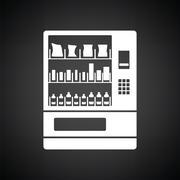 Food selling machine icon Stock Illustration