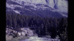 1979: excellent view of river BRITISH COLUMBIA CANADA Stock Footage