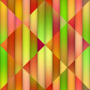 Gradient Tiling Geometric Grid. Seamless Multicolor Pattern Stock Illustration