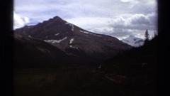 1979: snow in the mountain BRITISH COLUMBIA CANADA Arkistovideo
