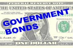 Government Bonds concept Stock Illustration