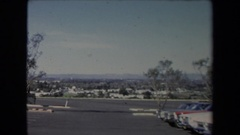 1967: old video footage shows fleet of classic automobiles LOS ANGELES Stock Footage