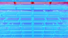 Abstract computer screen saver Stock Footage