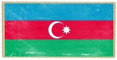 Azerbaijan flag Stock Photos