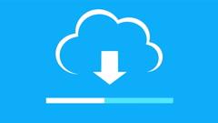4k,Download the informative cloud,loading progress,web tech background. Arkistovideo