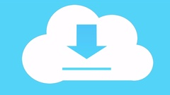 4k,Download the informative cloud,web tech background. Stock Footage