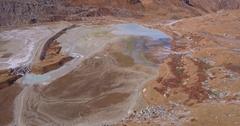 Mountain swamp - Aerial 4K Stock Footage