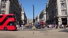 UK, England, London, Oxford Circus Stock Footage