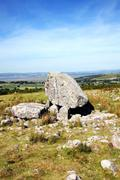Arthur's Stone Neolithic burial chamber, Gower Peninsular Wales Stock Photos