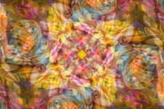 Abstract swirl eyes background pattern Stock Photos