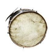 The old, worldly-wise, dusty bass drum Kuvituskuvat