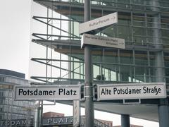 Berlin Potsdamer Platz Stock Photos