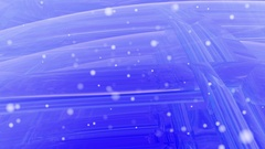 Blue computer animated screen saver Stock Footage