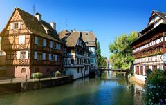 Petite France Strasbourg Stock Photos