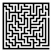 Maze Labyrinth Stock Illustration