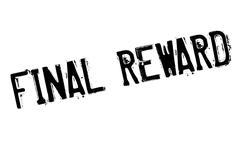 Final Reward rubber stamp Stock Illustration