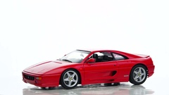 Ferrari F355 Berlinetta 1990s sports car scale model Stock Footage