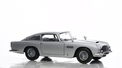 Aston Martin DB5 classic sports car Stock Footage