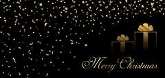 Merry Christmas firework background Piirros