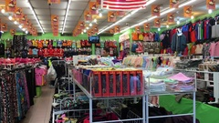 Clothing store in Kuala Lumpur Stock Footage