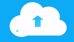 4k,Update the informative cloud,upload progress,web tech background. Stock Footage