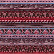 Ethnic boho seamless pattern. Tribal art print, border ornament. Background.. Stock Illustration