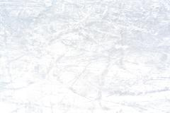 Ice rink background after a skating contest on winter time Stock Photos
