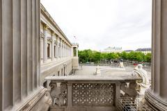 Photo view on ringstrasse street Stock Photos