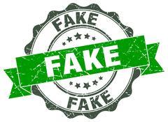 Fake stamp. sign. seal Stock Illustration