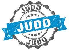 Judo stamp. sign. seal Stock Illustration