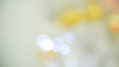 Back background with bokeh. Stock Footage