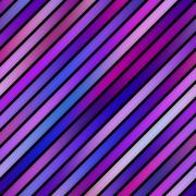 Parallel Gradient Stripes. Seamless Multicolor Pattern. Stock Illustration