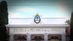 Navy Petty-Officers School of Mechanics, Buenos Aires, Argentina Stock Footage