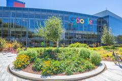 Google headquarters Icon Stock Photos