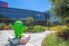 Android Nougat replica Stock Photos